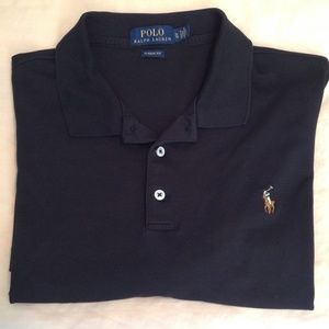 Ralph Lauren Polo Classic Fit Shirt Black Size XL